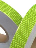 Hi Viz Intensity Grade Lime Reflective Tape 25mm x 2.5m