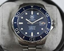 Tag Heuer Aquaracer Automatic 300m Calibre 5 WAN2111 Mens Wrist Watch lot.50