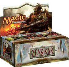 Zendikar Magic the Gathering Boxes