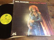 NEIL DIAMOND HOT AUGUST NIGHT   1972 DOUBLE vinyl LP ULD 1-1/2 EXC