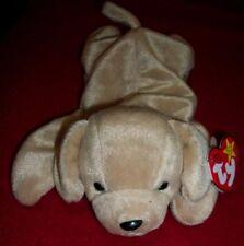 """TY Beanbag Plush Original BEANIE BABY """"FETCH"""" puppy dog w/Tag 1997"""
