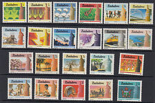 ZIMBABWE : 1985 National Infrastructure definitive set SG 659-80 NMH