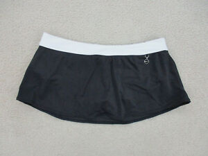 Nike Skort Womans 12 Black White Drifit Casual Athletic Outdoors Ladies A42