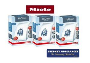 MIELE GENUINE GN HYCLEAN 3D EFFICIENCY VACUUM BAGS X 3 BOXES