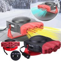150W Car Auto Heater 12V Vehicle Heating Cooling Fan Defroster Demister Warmer