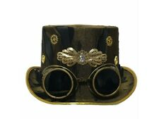 Nemesis Now 'Whitby Wanderer' Steampunk style witches hat. ONE SIZE. New.