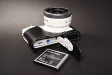 Genuine real Leather Half Camera Case bag cover for Samsung NX3000 Bottom Open B