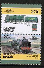 Funafuti - Tuvalu 1986 Railway Heritage Train 20c Series 4 MNH UMM