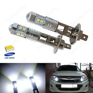 2 Ampoule H1  10 SMD LED Blanc Xenon DRL Feux Anti Brouillard Phare Lampe