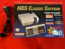 Nintendo Classic Edition NES Mini Game Console w/ 30 built-in games + 1000 Games