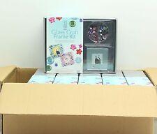 New Job Lot 6 x PF Gifts Glass Craft Frame Kit 4 Frame Pack - FREE P&P