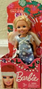 BARBIE KELLY CHELSEA CHRISTMAS FIGURE ANGEL *NEW*