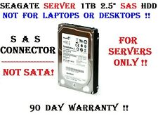 Seagate For Servers Only! 1TB SAS 2.5