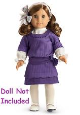 American Girl Rebecca Hanukkah Outfit NIB Purple Retired Historical