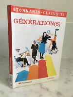 Generación (SE) Increíbles ..! Clásicos Antología Flammarion 2009