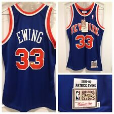 Patrick Ewing Signed Knicks Authentic Jersey (Steiner)