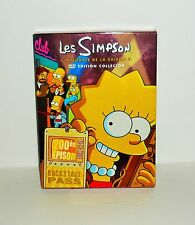COFFRET 4 DVD VIDEO LES SIMPSON L'INTEGRALE DE LA SAISON 9 EDITON COLLECTOR