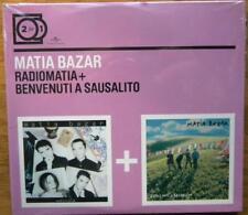MATIA BAZAR RADIOMATIA + BENVENUTI A SESUALITO 2 FOR 1 CD