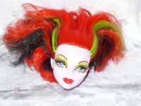 Mattel Monster High Doll OPERETTA Replacement HEAD ONLY for OOAK/Custom