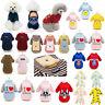 25+ Types Pet Clothes Pattern Dog Cat Puppy Long Sleeve Warm Costume Sweatshirt