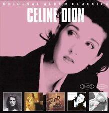 Original Album Classics [2012] [Slipcase] by Céline Dion (CD, Jan-2012, 5 Discs, Epic)