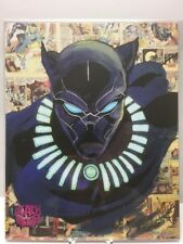 Black Panther 8x10 The Bam Box Exclusive Art Print Signed By Artist /2000