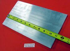 "3/8"" X 5"" ALUMINUM 6061 FLAT BAR 11"" long T6511 .375"" Solid Plate Mill Stock"