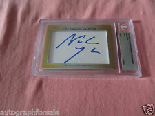 Noah Wyle 2013 Leaf Masterpiece Cut Signature signed auto card 1/1 Falling Skies