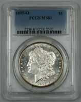 1895-O Morgan Silver Dollar Coin PCGS MS-61 (Choice)(Proof-like) *Key Date*