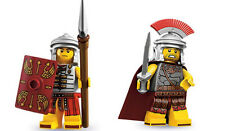 LEGO Minifigures - Series 6 Roman Soldier AND Series10 Roman Commander - New