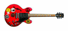 Alvin Lee's Gibson ES-335 BIG RED CHITARRA greeting card, dimensione DL
