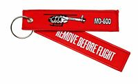 Porte-Clés Remove Before Flight MD 600