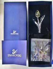 Swarovski Crystal Scs 2004 Yellow Tulip & 3 yr Mini Tulips Member Renewal Gifts