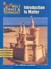Holt Science & Technology: Introduction to Matter (Holt Science and Technology)