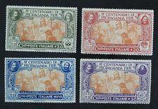CKStamps: Italy Stamps Collection Scott#143-146 Mint H OG