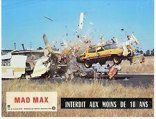 MEL GIBSON GEORGE MILLER MAD MAX 1979 VINTAGE LOBBY CARD ORIGINAL #6