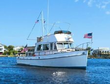 1971 GRAND BANKS 36' CLASSIC WOODEN TWIN DIESEL TRAWLER