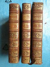 INSTRUCTIONS FAMILIERES, DOGMATIQUES, 1783. 3 vol. (symbole, instructions...)