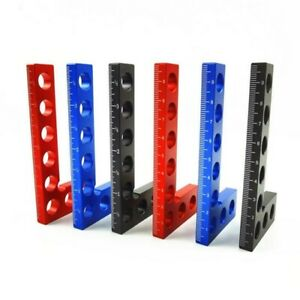 Heavy Duty 90° Precision Woodworking Tools Positioning Squares, Metric/