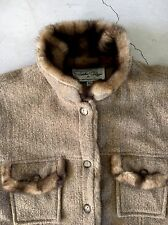Tasha Polizzi Faux Fur Jacket XL Free Chico Western Coat Anthropologie People