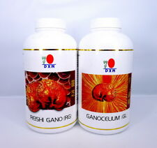 DXN Reishi Gano RG 360 + Ganocelium GL 360 Capsules 100% Ganoderma Lucidum
