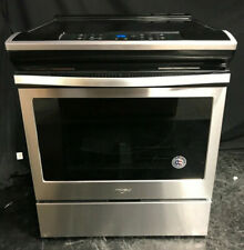 """Whirlpool Wee510S0Fs 30"""" Slide-In Electric Range 4 Radiant Elements Stainless St"""