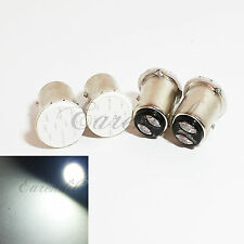 1157 4x White 6K COB 12 Chips LED Bulb #Pt36 P21/5W BAY15d Stop Brake Tail Light