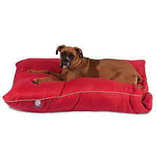 35x46 Red Super Value Pet Dog Bed By Majestic Pet Products Large