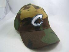 C Camo Hat Camouflage Hook Loop Baseball Cap