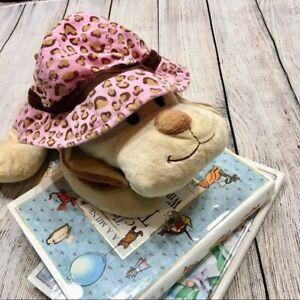 Pink & Brown Leopard Print Fisherman's Hat Baby Toddler Girls Size