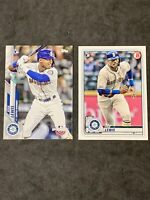 Kyle Lewis 2020 TOPPS  OPENING DAY And Bowman. Mariners HOT Rookie  2 CARD LOT