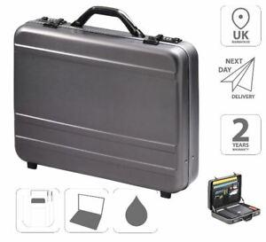 "Aluminium Briefcase Attache Case 17"" Laptop Case FI2996"