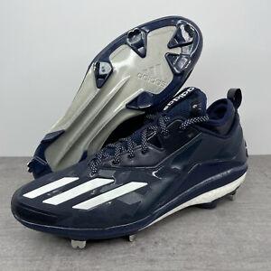 Adidas Energy Boost Icon 2.0 Baseball Cleats Navy/White B72824 Men's Size 12.5