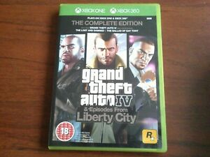Grand Theft Auto IV Complete Edition (Xbox One & Xbox 360) NEAR MINT GTA 4